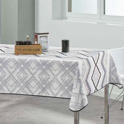 Beige Tischdecke 240 x 148 Französisch Tischdecken