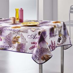 Tablecloth lavender, olive and sunflower 240 X 148 French tablecloths