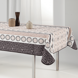 Tablecloth beige elegant and stylish 240 X 148 French tablecloths