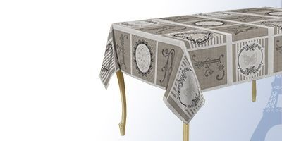 Vierkante Franse tafelkleden van hoge kwaliteit voor binnen en buiten.