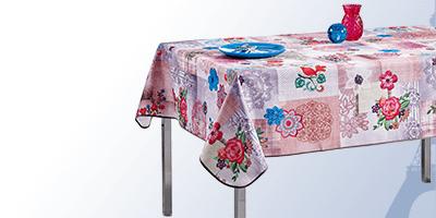 Tischdecke eckige für drinnen und draußen | Franse Tafelkleden
