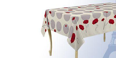 Vierkante tafelkleden 180 cm gecoat voor binnen en buiten
